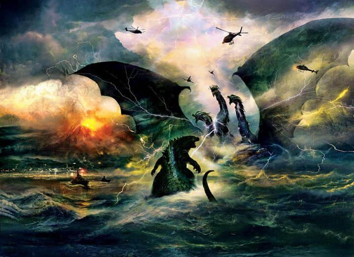 ゴジラ キング・オブ・モンスターズの画像